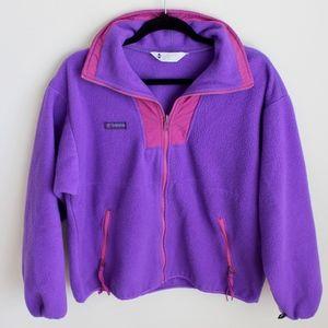 Vintage Columbia Zip up Fleece